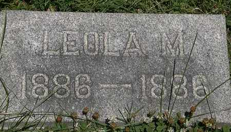 WAHL, LEOLA M. - Erie County, Ohio | LEOLA M. WAHL - Ohio Gravestone Photos