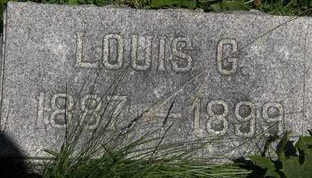 WAHL, LOUIS G. - Erie County, Ohio | LOUIS G. WAHL - Ohio Gravestone Photos