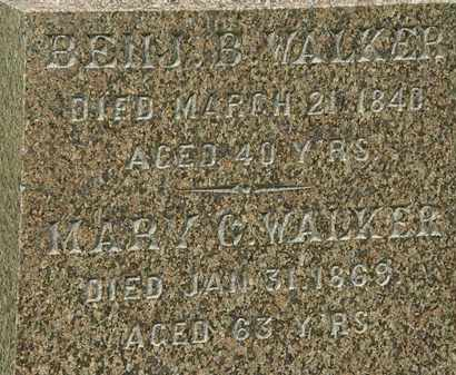 WALKER, MARY C - Erie County, Ohio | MARY C WALKER - Ohio Gravestone Photos
