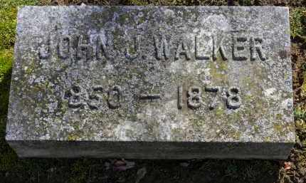 WALKER, JOHN J. - Erie County, Ohio | JOHN J. WALKER - Ohio Gravestone Photos
