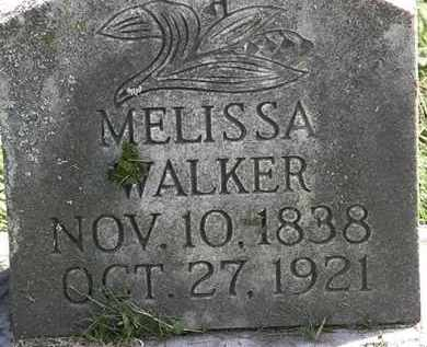 WALKER, MELISSA - Erie County, Ohio | MELISSA WALKER - Ohio Gravestone Photos