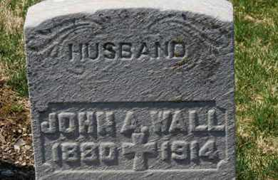 WALL, JOHN A. - Erie County, Ohio | JOHN A. WALL - Ohio Gravestone Photos