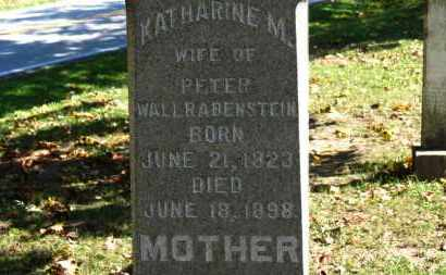 WALLRABENSTEIN, PETER - Erie County, Ohio | PETER WALLRABENSTEIN - Ohio Gravestone Photos