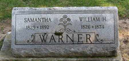 WARNER, WILLIAM H. - Erie County, Ohio | WILLIAM H. WARNER - Ohio Gravestone Photos