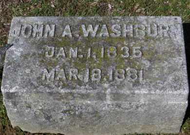 WASHBURN, JOHN A. - Erie County, Ohio | JOHN A. WASHBURN - Ohio Gravestone Photos