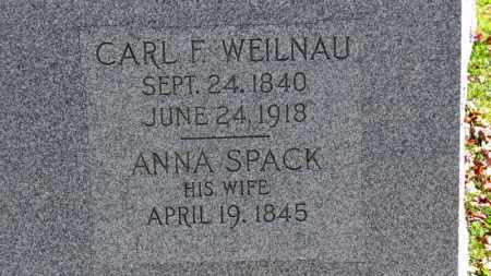 WEILNAU, CARL F. - Erie County, Ohio | CARL F. WEILNAU - Ohio Gravestone Photos