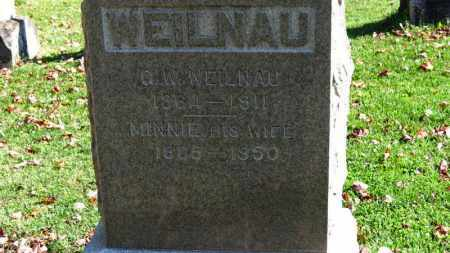 WEILNAU, MINNIE - Erie County, Ohio | MINNIE WEILNAU - Ohio Gravestone Photos