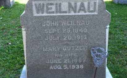 GUTZEIT WEILNAU, MARY - Erie County, Ohio | MARY GUTZEIT WEILNAU - Ohio Gravestone Photos