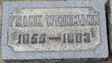 WEINMANN, FRANK - Erie County, Ohio | FRANK WEINMANN - Ohio Gravestone Photos