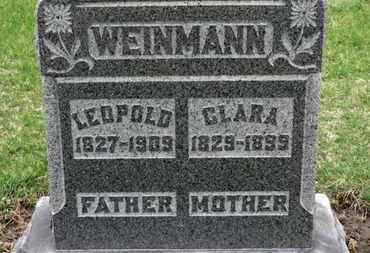 WEINMANN, LEOPOLD - Erie County, Ohio | LEOPOLD WEINMANN - Ohio Gravestone Photos