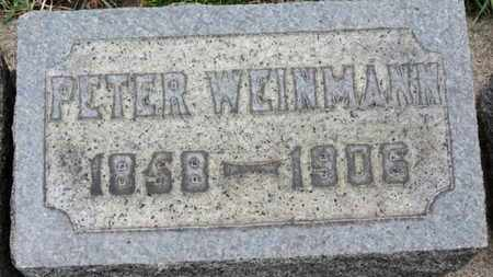 WEINMANN, PETER - Erie County, Ohio | PETER WEINMANN - Ohio Gravestone Photos