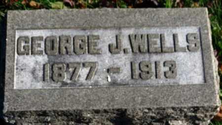 WELLS, GEORGE J. - Erie County, Ohio | GEORGE J. WELLS - Ohio Gravestone Photos