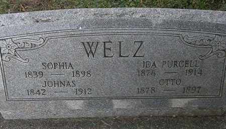 WELZ, JOHNAS - Erie County, Ohio | JOHNAS WELZ - Ohio Gravestone Photos
