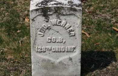 WERNER, JNO. - Erie County, Ohio | JNO. WERNER - Ohio Gravestone Photos