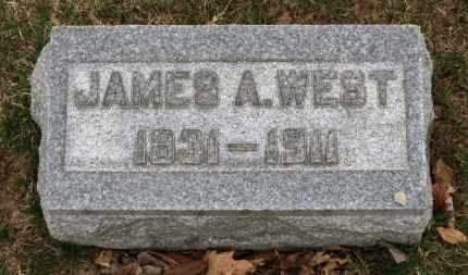 WEST, JAMES A. - Erie County, Ohio | JAMES A. WEST - Ohio Gravestone Photos