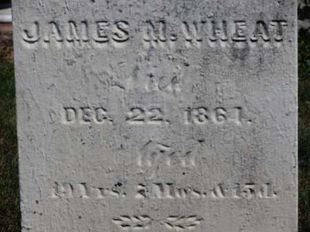 WHEAT, JAMES M. - Erie County, Ohio | JAMES M. WHEAT - Ohio Gravestone Photos