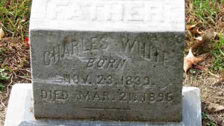WHITE, CHARLES - Erie County, Ohio | CHARLES WHITE - Ohio Gravestone Photos