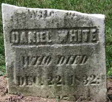 WHITE, DANIEL - Erie County, Ohio | DANIEL WHITE - Ohio Gravestone Photos