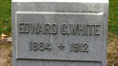 WHITE, EDWARD C. - Erie County, Ohio | EDWARD C. WHITE - Ohio Gravestone Photos