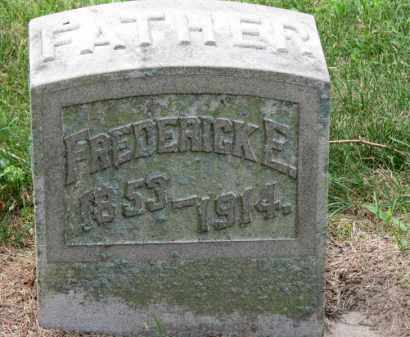 WHITE, FREDERICK E. - Erie County, Ohio | FREDERICK E. WHITE - Ohio Gravestone Photos
