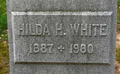 WHITE, HILDA H. - Erie County, Ohio | HILDA H. WHITE - Ohio Gravestone Photos