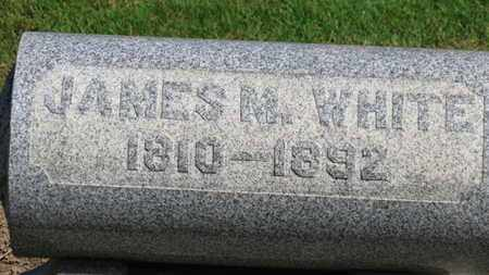 WHITE, JAMES M. - Erie County, Ohio | JAMES M. WHITE - Ohio Gravestone Photos