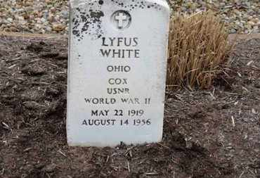 WHITE, LYFUS - Erie County, Ohio | LYFUS WHITE - Ohio Gravestone Photos