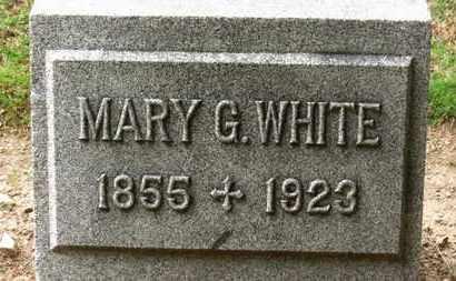 WHITE, MARY G. - Erie County, Ohio | MARY G. WHITE - Ohio Gravestone Photos