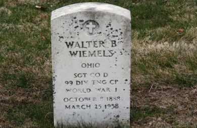 WIEMSLEY, WALTER B. - Erie County, Ohio | WALTER B. WIEMSLEY - Ohio Gravestone Photos