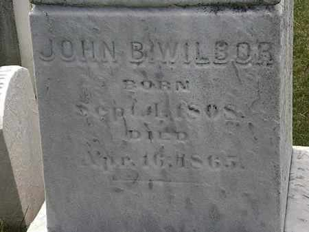 WILBOR, JOHN B. - Erie County, Ohio | JOHN B. WILBOR - Ohio Gravestone Photos
