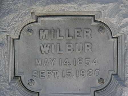 WILBUR, MILLER - Erie County, Ohio | MILLER WILBUR - Ohio Gravestone Photos