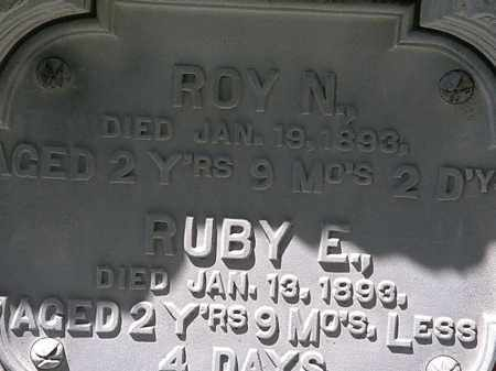 WILBUR, RUBY E. - Erie County, Ohio | RUBY E. WILBUR - Ohio Gravestone Photos