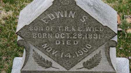 WILD, EDWIN S. - Erie County, Ohio | EDWIN S. WILD - Ohio Gravestone Photos