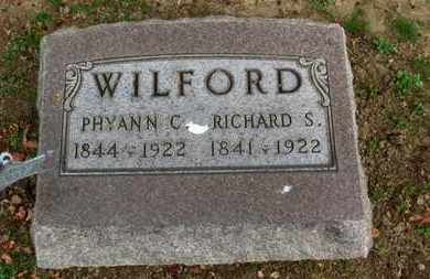 WILFORD, RICHARD S. - Erie County, Ohio | RICHARD S. WILFORD - Ohio Gravestone Photos