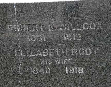 ROOT WILLCOX, ELIZABETH - Erie County, Ohio | ELIZABETH ROOT WILLCOX - Ohio Gravestone Photos