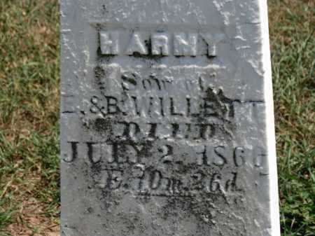 WILLETT, HARNY - Erie County, Ohio | HARNY WILLETT - Ohio Gravestone Photos