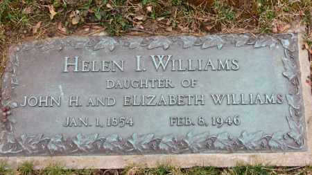 WILLIAMS, HELEN I. - Erie County, Ohio | HELEN I. WILLIAMS - Ohio Gravestone Photos