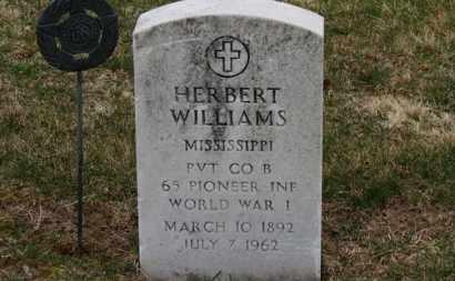 WILLIAMS, HERBERT - Erie County, Ohio | HERBERT WILLIAMS - Ohio Gravestone Photos