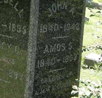 WILLSON, AMOS S. - Erie County, Ohio | AMOS S. WILLSON - Ohio Gravestone Photos