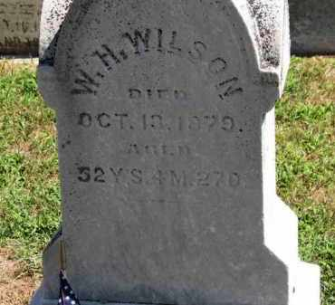 WILSON, W.H. - Erie County, Ohio | W.H. WILSON - Ohio Gravestone Photos