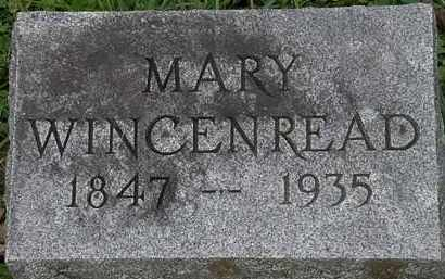 WINCENREAD, MARY - Erie County, Ohio | MARY WINCENREAD - Ohio Gravestone Photos