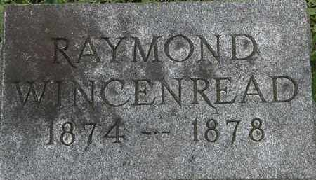 WINCENREAD, RAYMOND - Erie County, Ohio | RAYMOND WINCENREAD - Ohio Gravestone Photos
