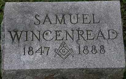 WINCENREAD, SAMUEL - Erie County, Ohio | SAMUEL WINCENREAD - Ohio Gravestone Photos