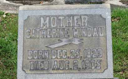 WINDAU, CATHERINE - Erie County, Ohio | CATHERINE WINDAU - Ohio Gravestone Photos