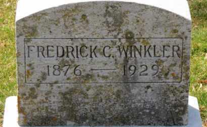 WINKLER, FREDERICK C. - Erie County, Ohio | FREDERICK C. WINKLER - Ohio Gravestone Photos