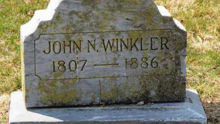 WINKLER, JOHN N. - Erie County, Ohio | JOHN N. WINKLER - Ohio Gravestone Photos
