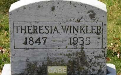 WINKLER, THERESIA - Erie County, Ohio | THERESIA WINKLER - Ohio Gravestone Photos