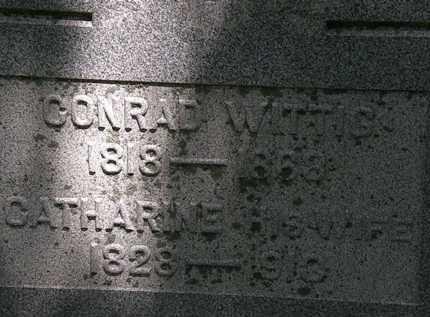 WITTIG, CONRAD - Erie County, Ohio | CONRAD WITTIG - Ohio Gravestone Photos