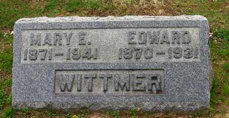 WITTMER, MARY E. - Erie County, Ohio | MARY E. WITTMER - Ohio Gravestone Photos