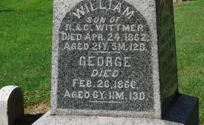WITTMER, GEORGE - Erie County, Ohio | GEORGE WITTMER - Ohio Gravestone Photos